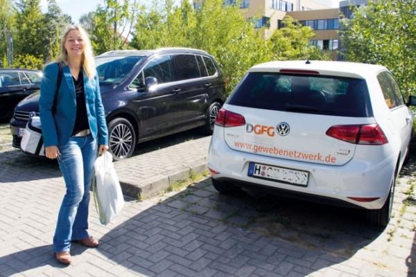 Steffi Mahnhardt koordiniert die Gewebespende in mehreren Krankenhäusern im nord-östlichen Mecklenburg-Vorpommern.