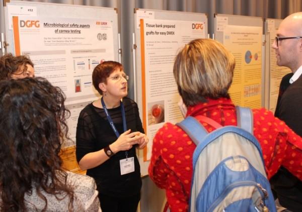 Mikrobiologische Test waren Thema in der Posterausstellung der EATB.