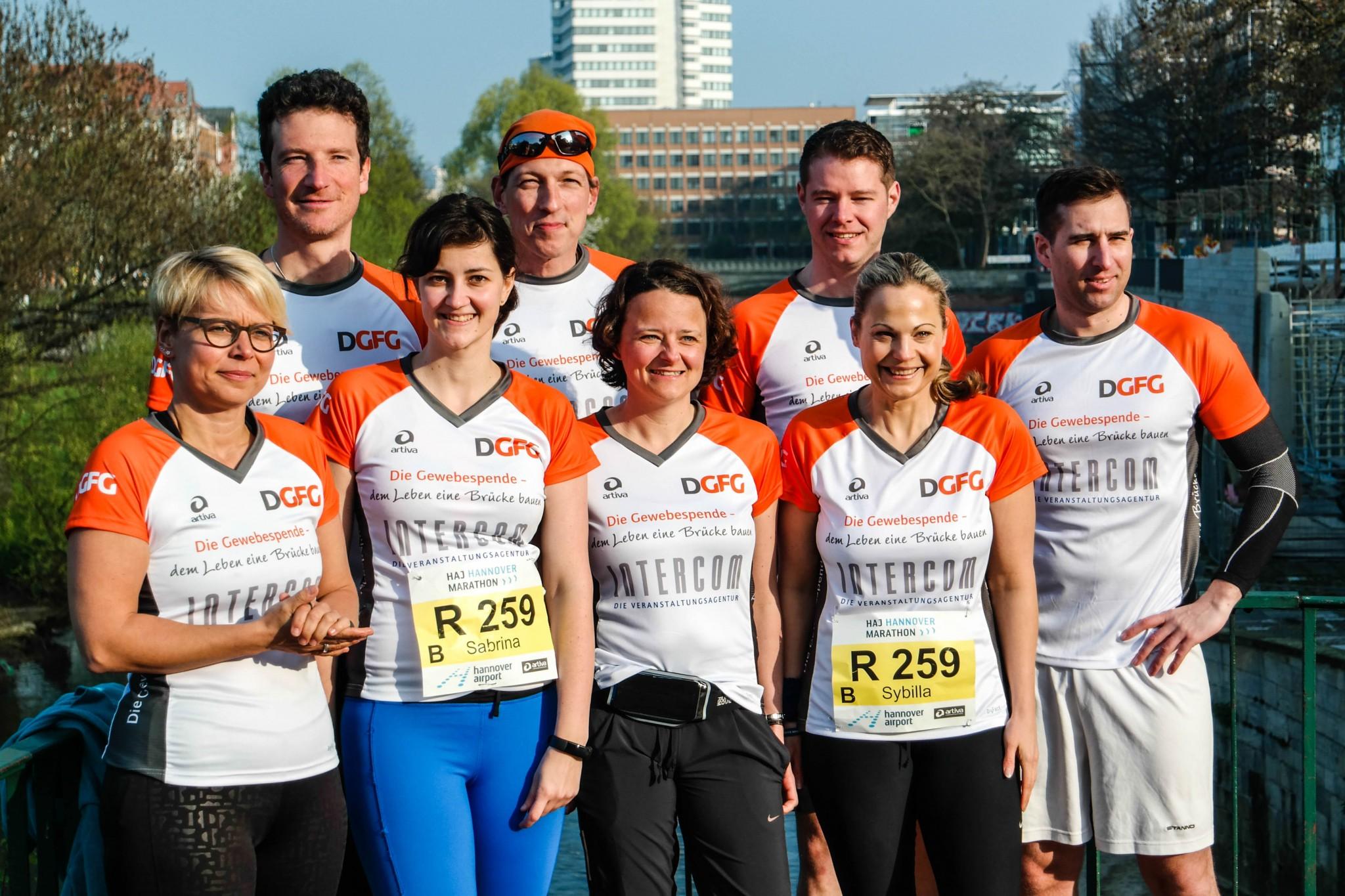 Staffellauf Hannover Marathon Spendenlauf